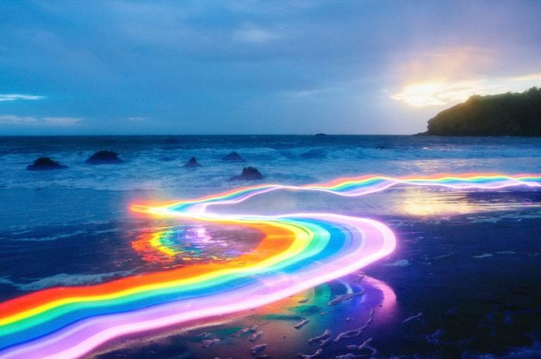 "Photo di Daniel Mercadante dal progetto ""Rainbow Roads"""